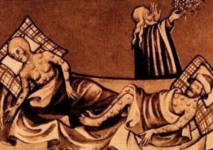 La peste negra fue la primera pandemia de la historia y la población no estaba adaptada
